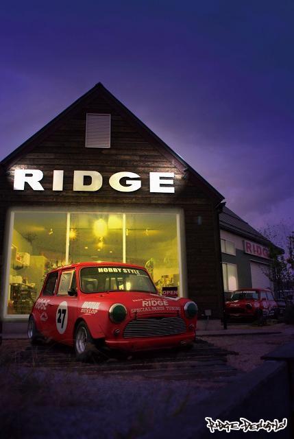 本年も宜しくお願いします!!! by RIDGE DESIGNS