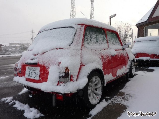 能登川で用事が済んだ頃には…約30㎝の積雪+真横からの吹雪 (1) by RIDGE DESIGNS